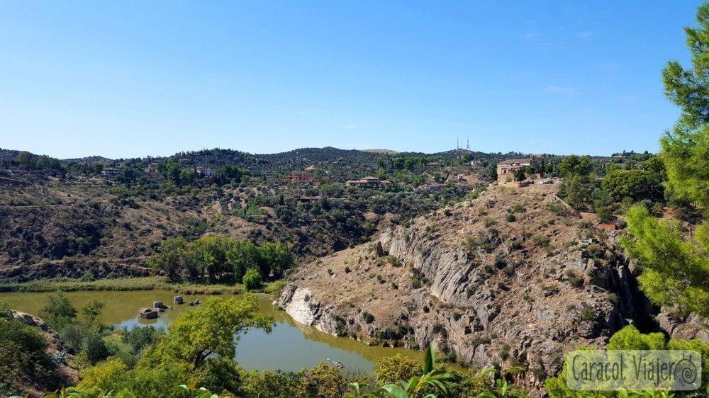 Vistas del Mirador en Toledo
