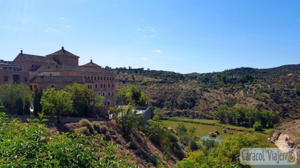 Mirador del Tránsito en Toledo