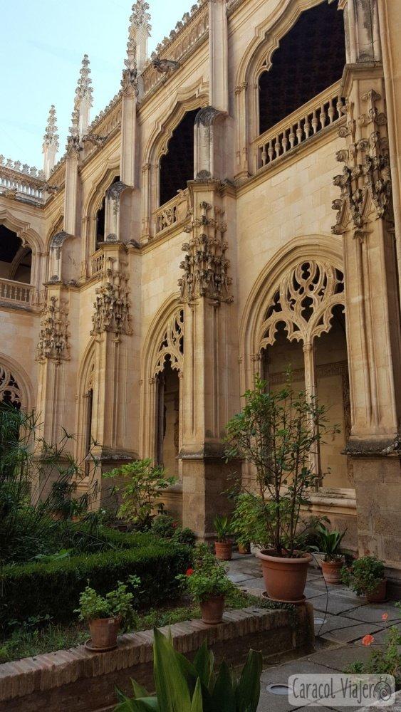 Monasterio San Juan de los Reyes patio interior