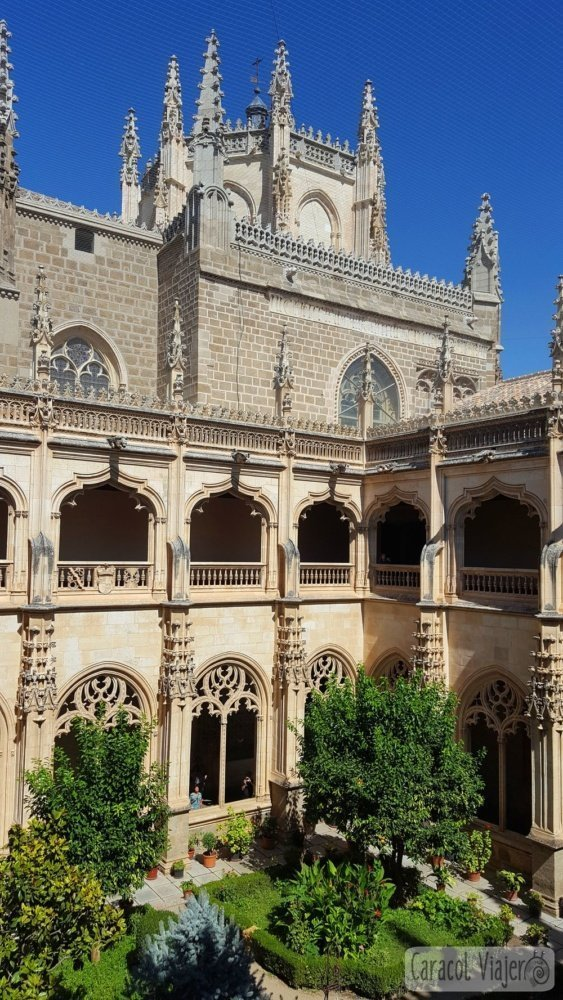 Monasterio San Juan de los Reyes toledoq