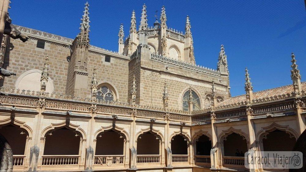 ruta por toledo Monasterio San Juan de los Reyes