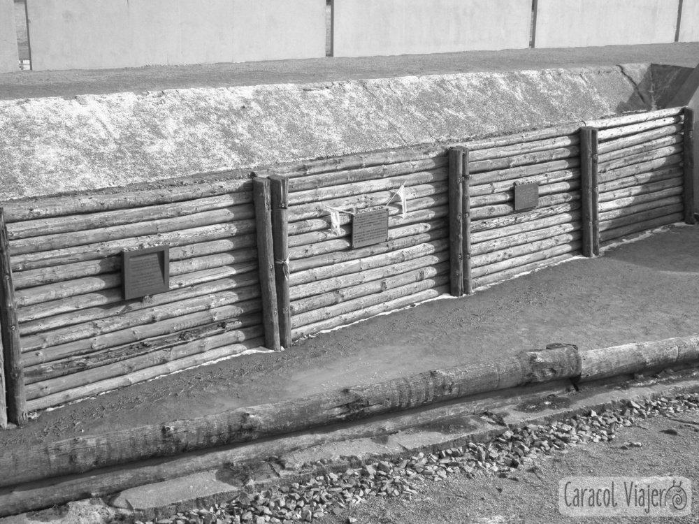 Berlin campo concentración fusilamiento