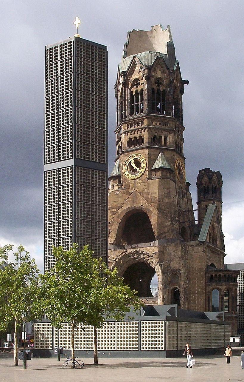 Gedächtniskirche - Iglesia bombardeada en Berlín
