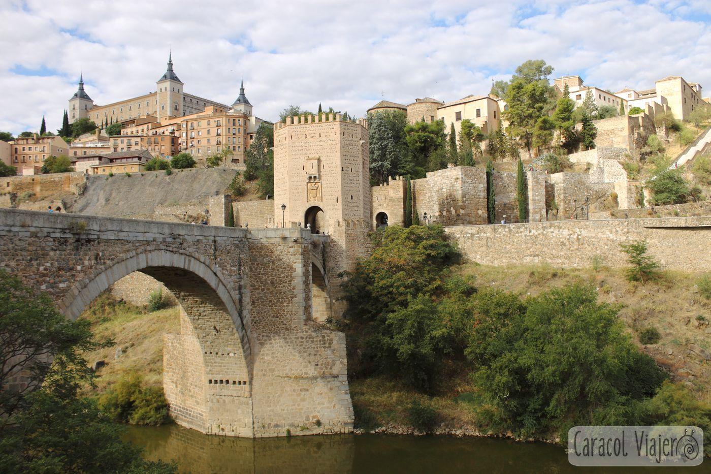 ruta por Toledo, Puente y Puerta de Alcántara