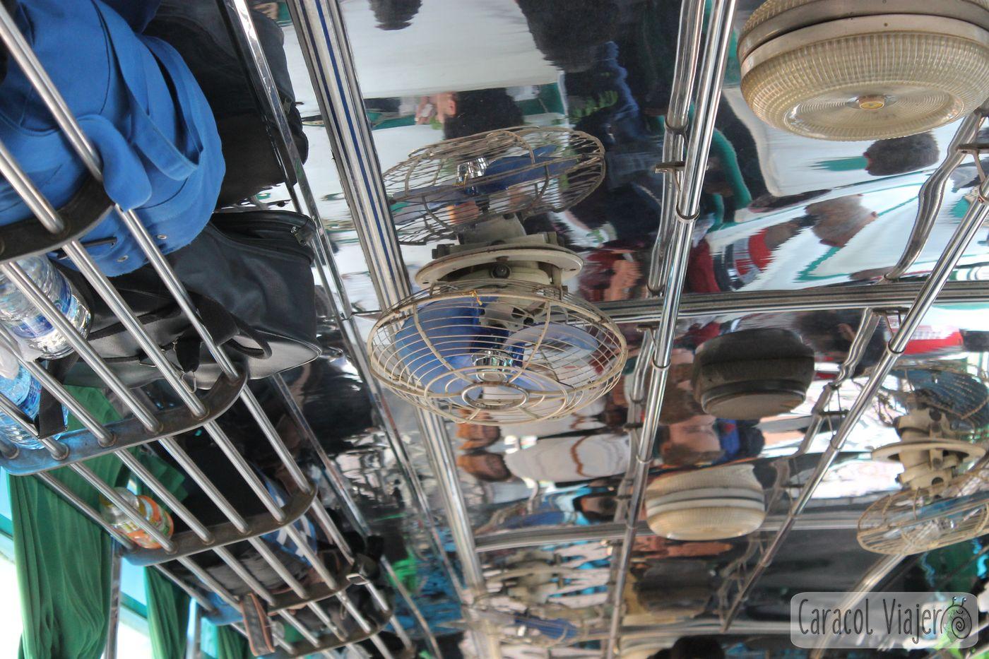 Ventiladores autobuses Tailandia
