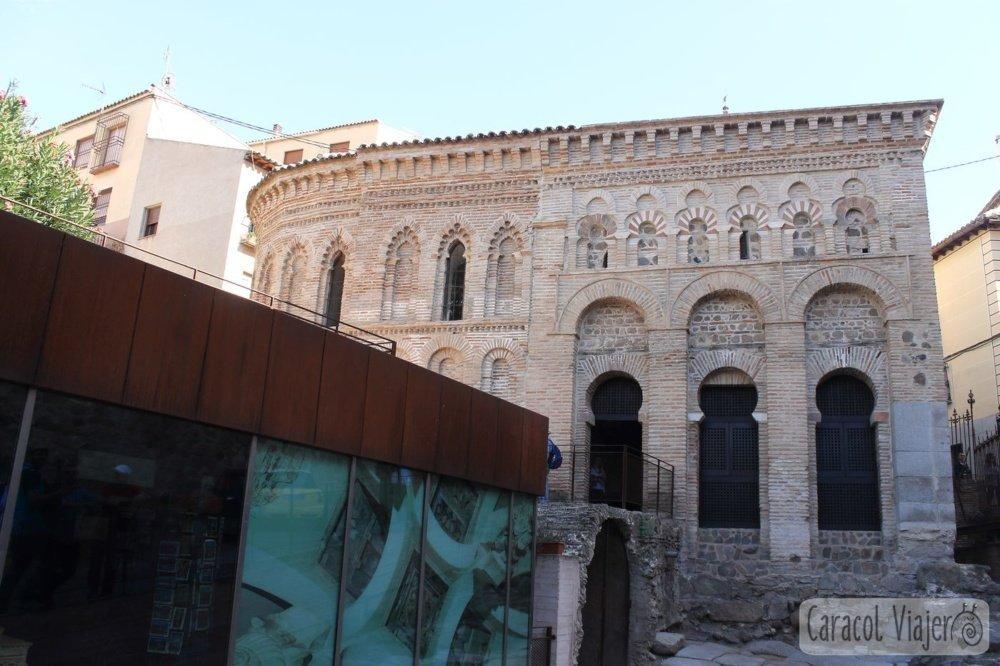 Edificio de la mezquita de Toledo