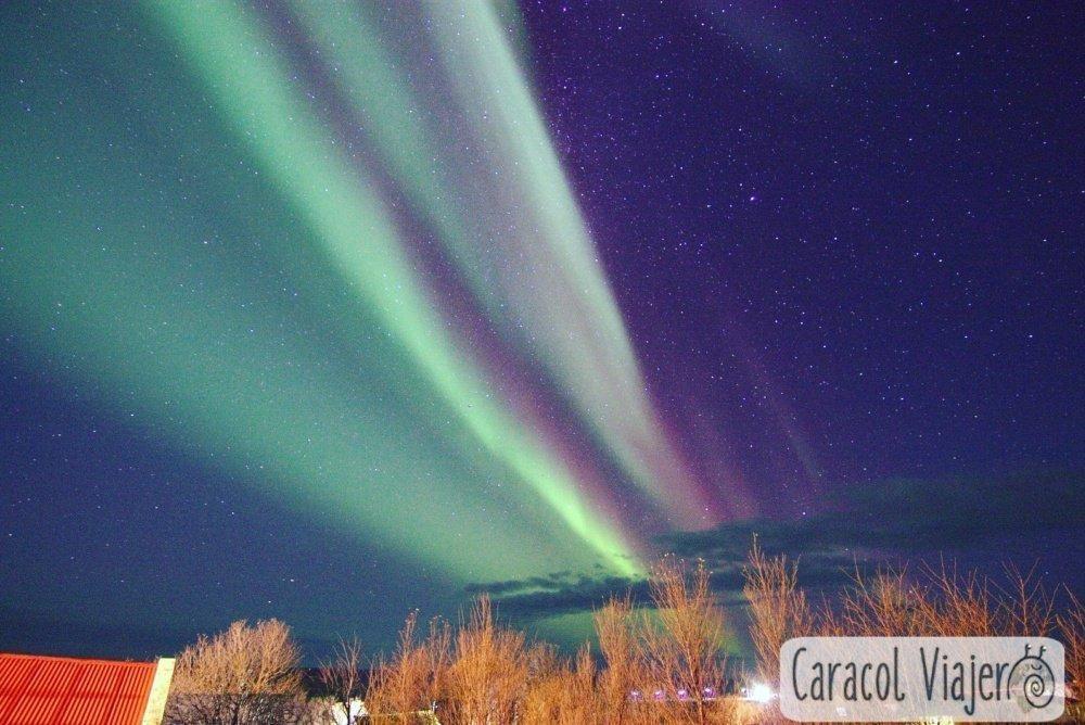 Islandia - luces del norte