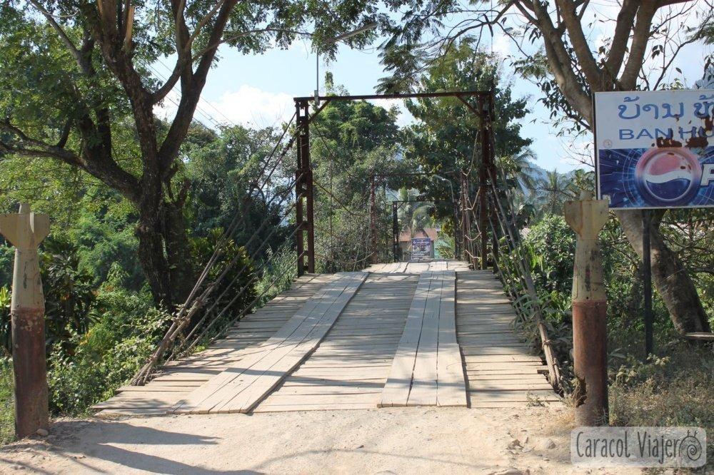 Puente de Vang Vieng