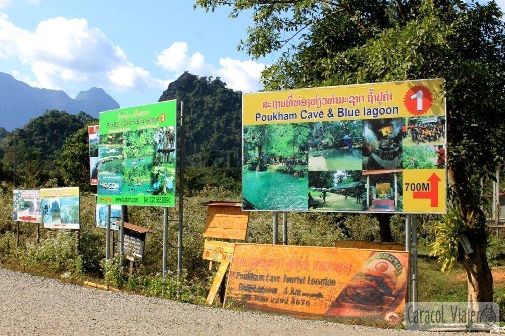 Laguna Azul 3 en Vang Vieng