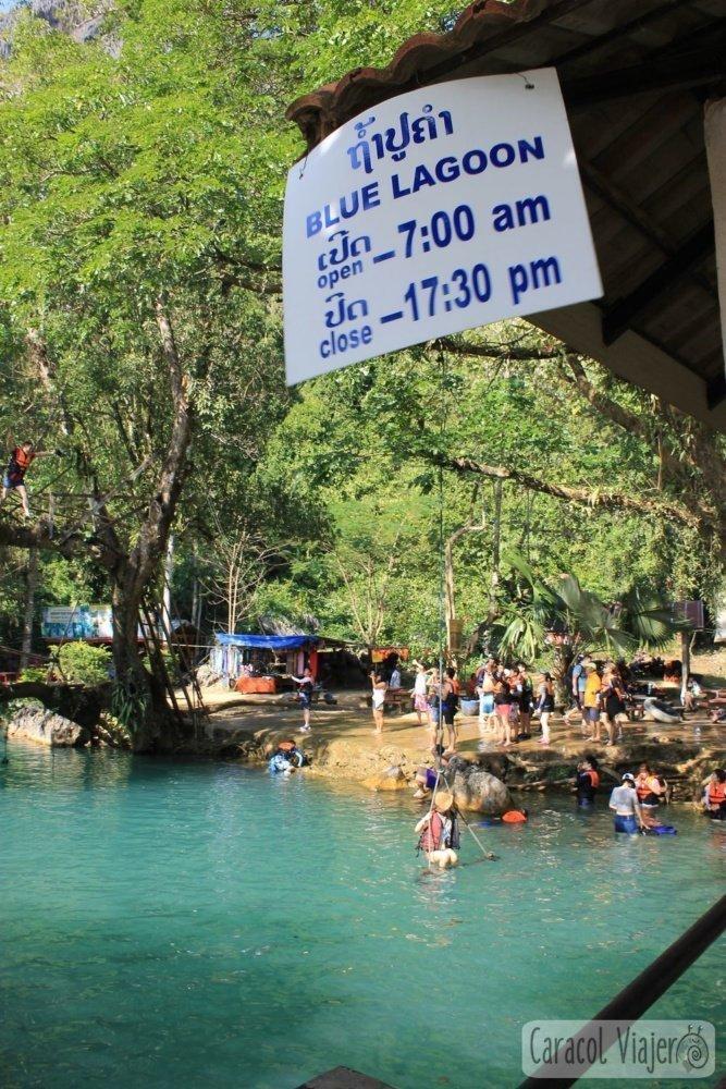Horario de Blue Lagoon