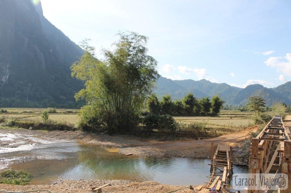 Cruce río blue lagoon