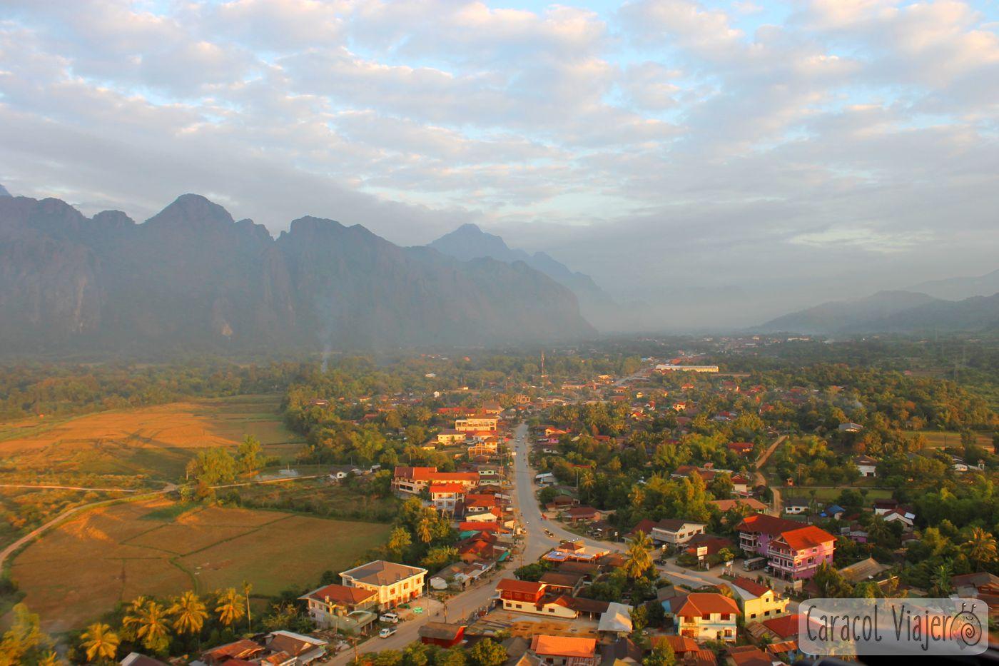 Vang Vieng amanecer