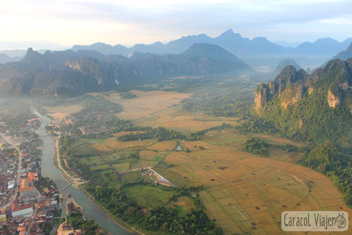 Vang Vieng vistas.