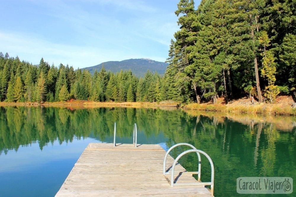 Lago en Whistler, Canadá