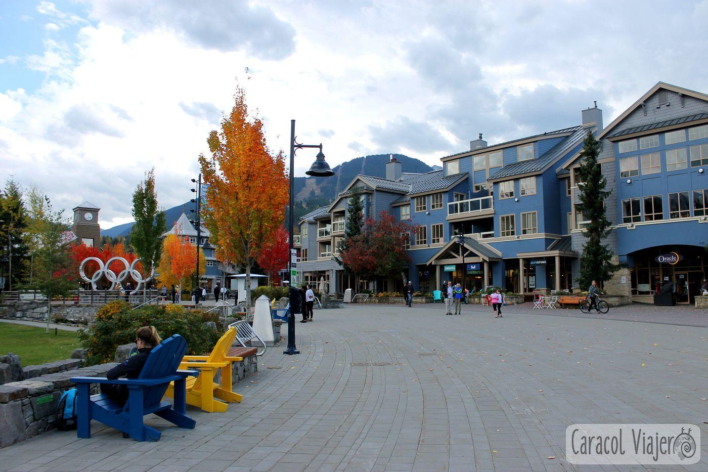 Whistler Village en Canadá