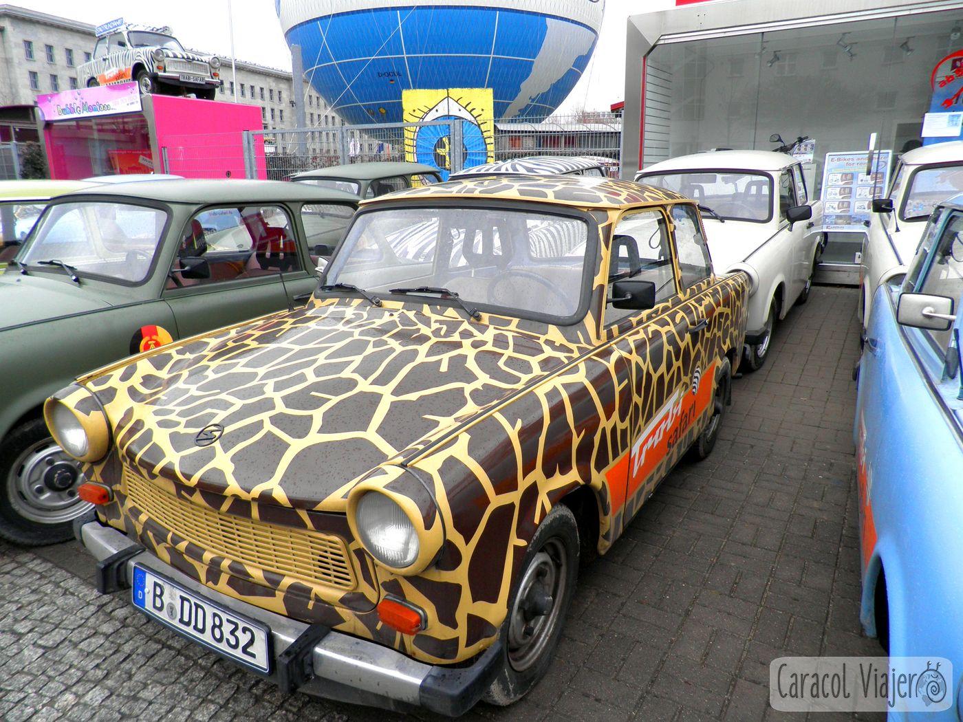 Coches molones en Berlín