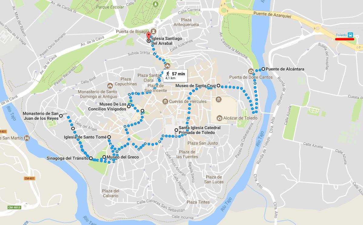 Ruta por Toledo en un día