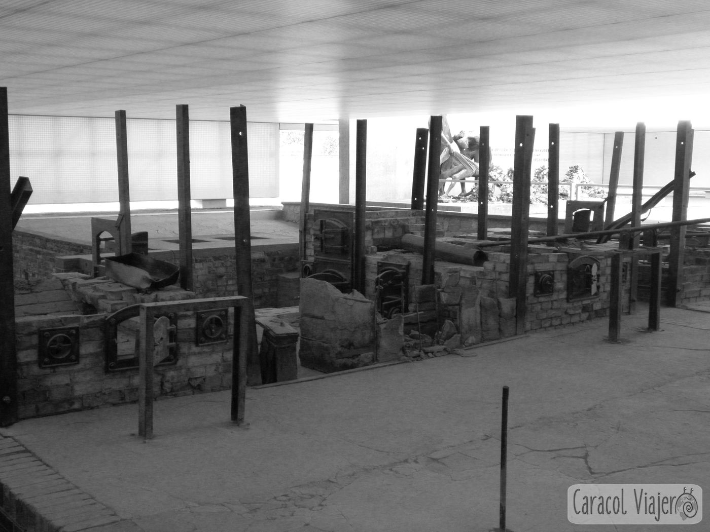 Berlin campo concentración crematorio