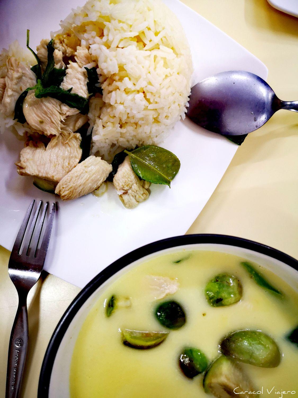 Pollo con curry verde tailandés   20 minutos
