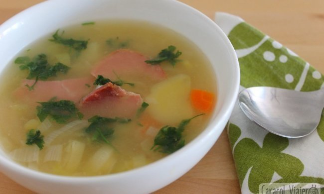 Sopa de puerros, cawl, una tradición galesa