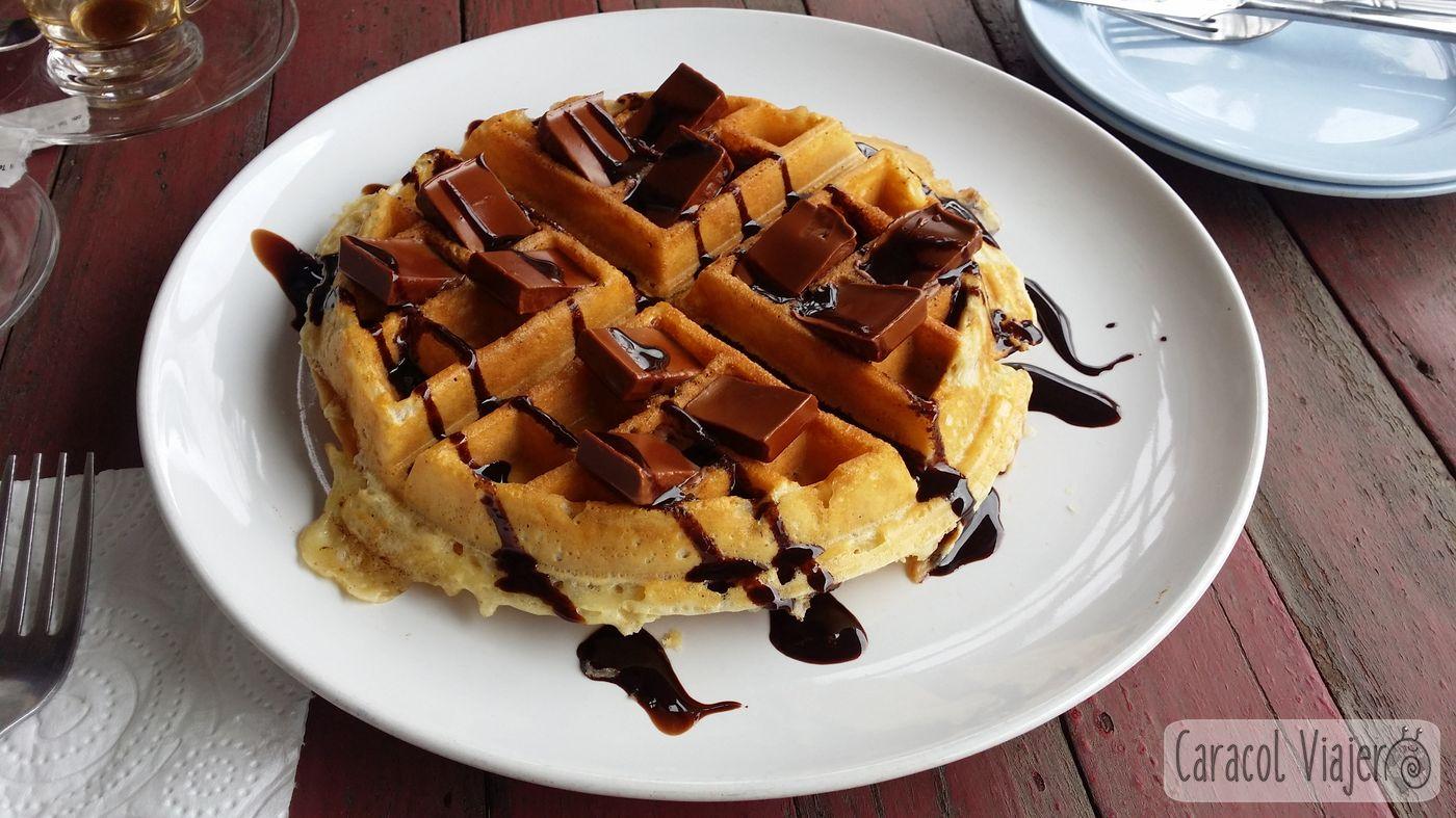 waffle en Thaton