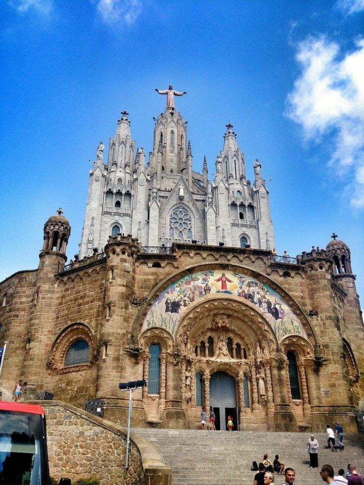 Tibidabo catedral
