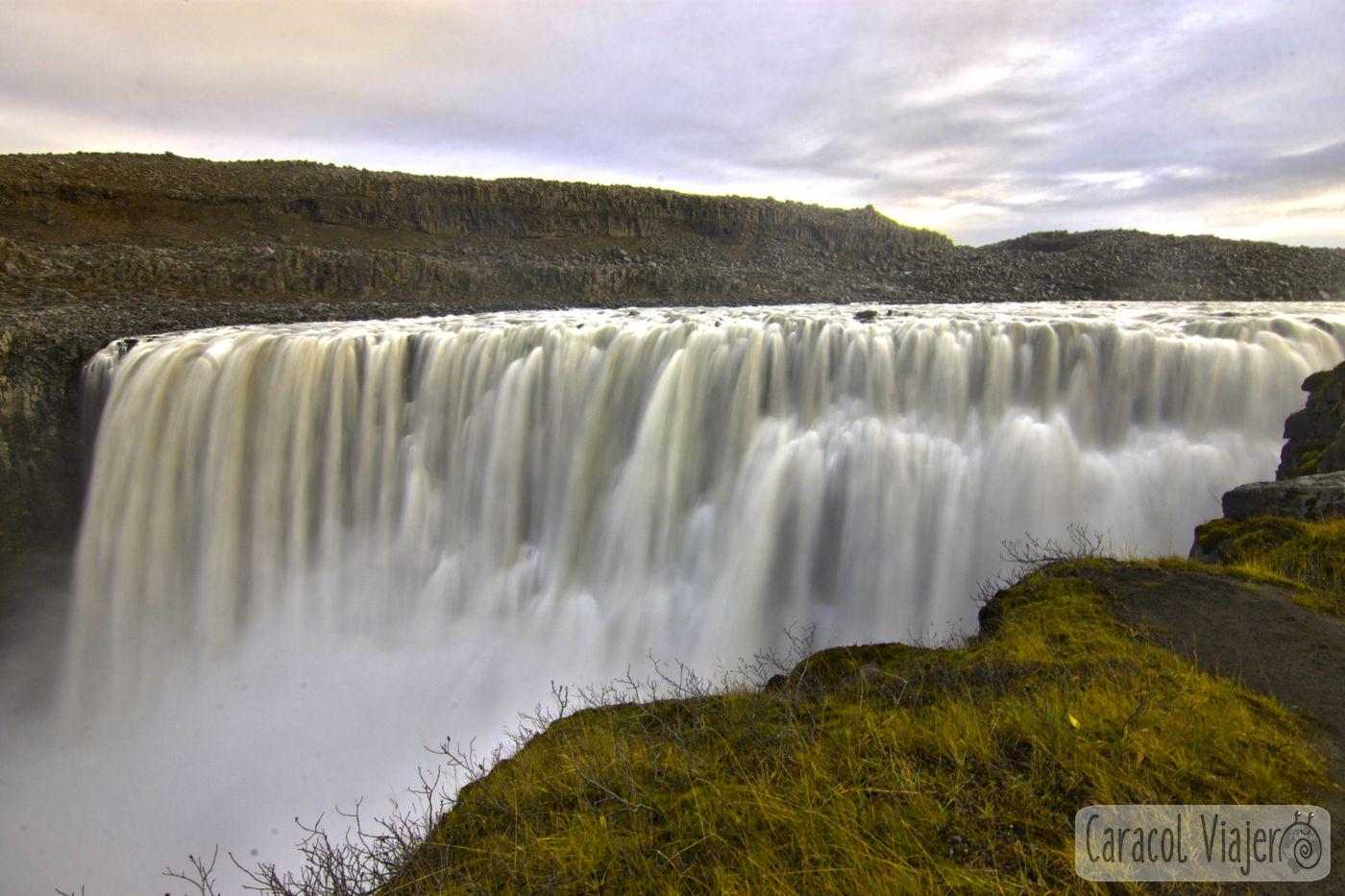 Cascada Dettifoss norte Islandia
