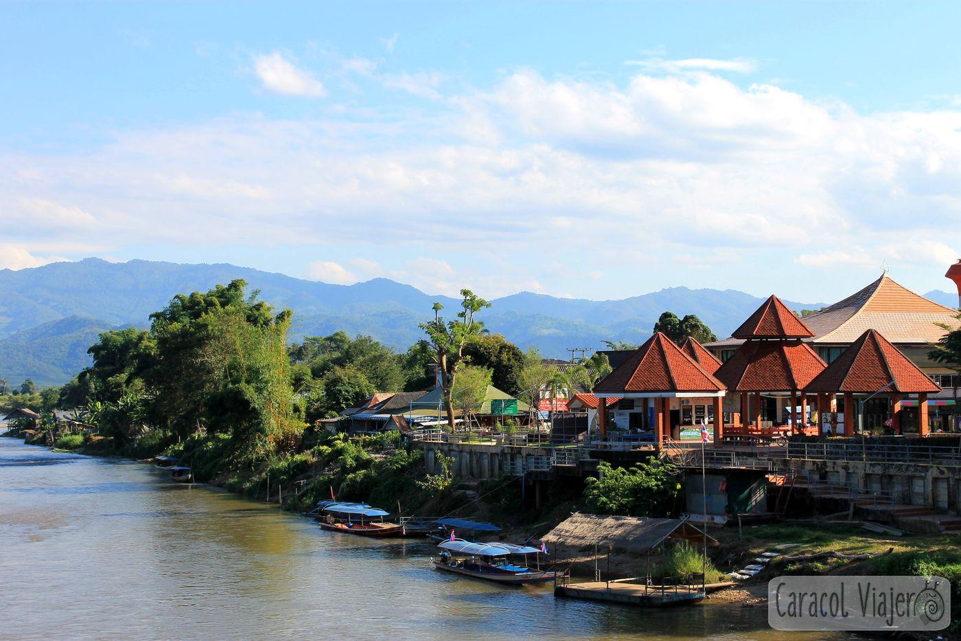Rio kok en Thaton Tailandia