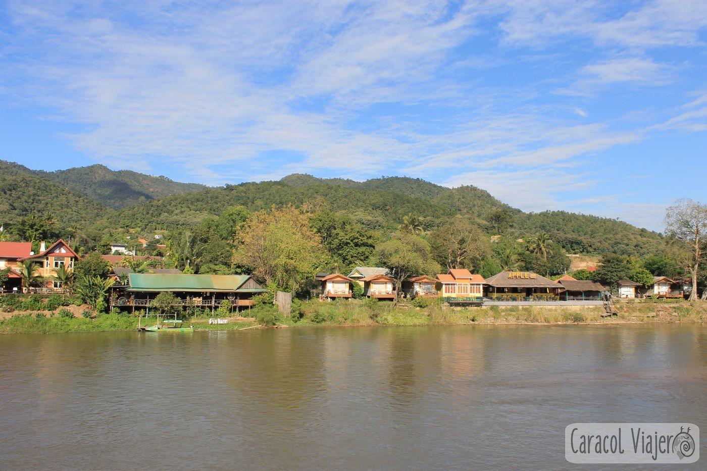 Río Kok en Tailandia