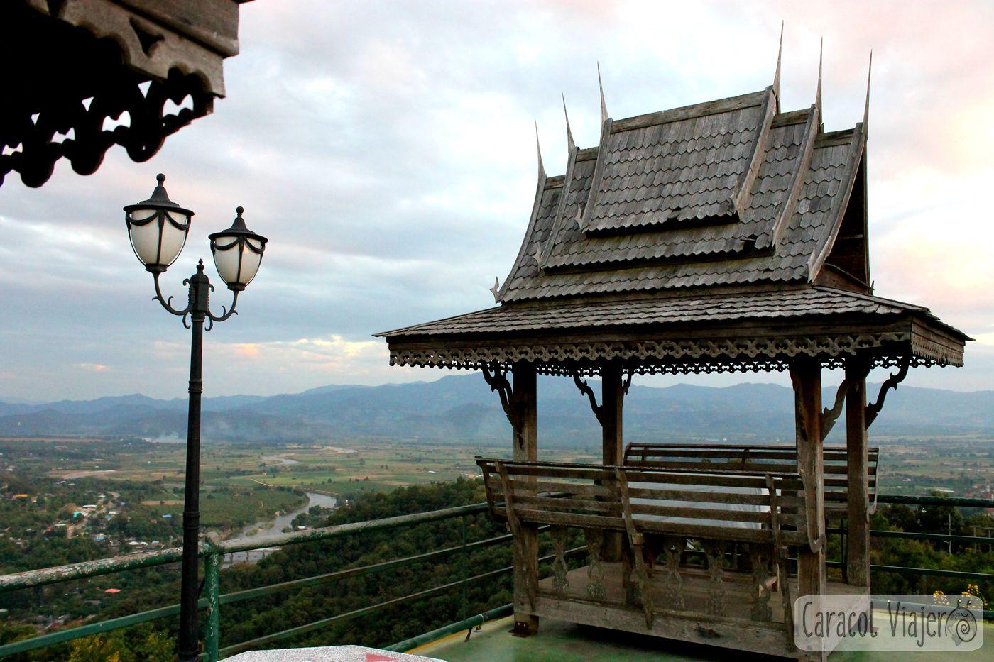 Vistas desde templo Thaton