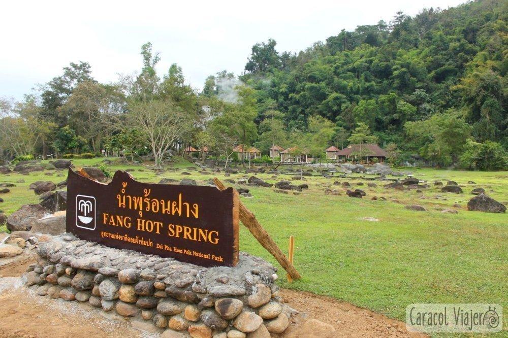 Fang Hot Spring Tailandia