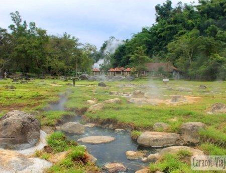 ¿Conoces las aguas termales de Fang al norte de Tailandia?