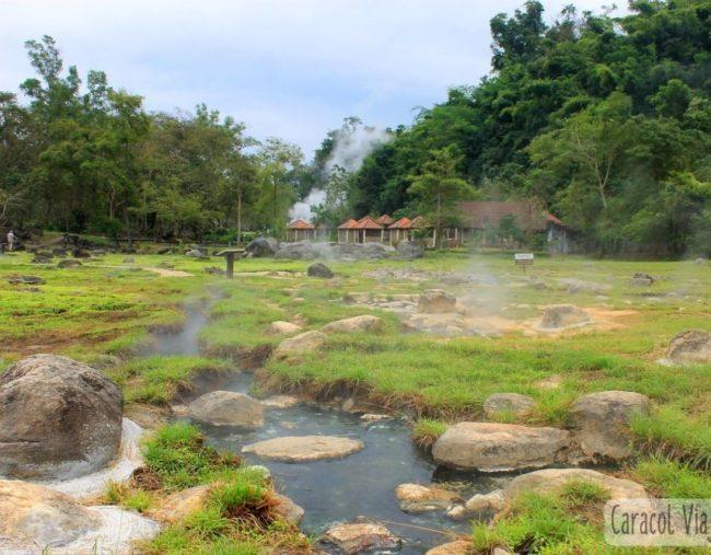 Las aguas termales de Fang | Norte de Tailandia