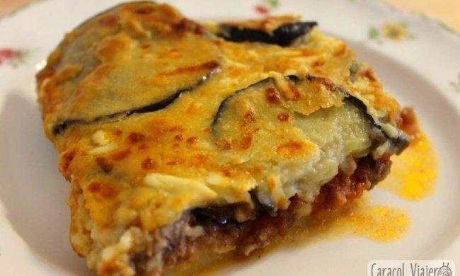 ¡El plato griego por excelencia: musaca de berenjenas!