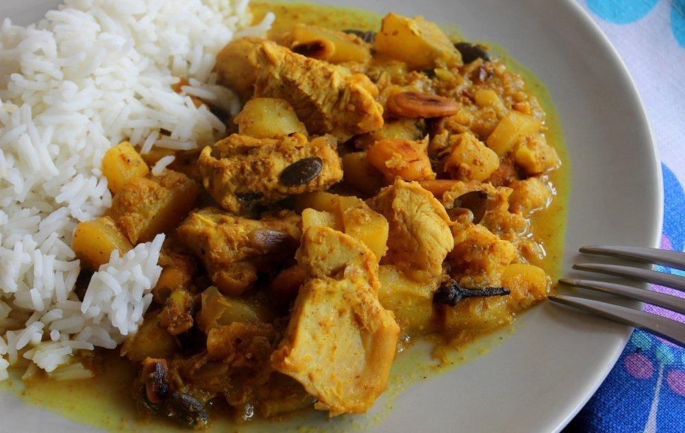 Pollo Korma – Murgh Korma con frutos secos y especias