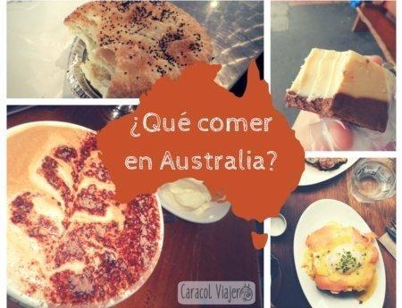 Comiendo por Australia