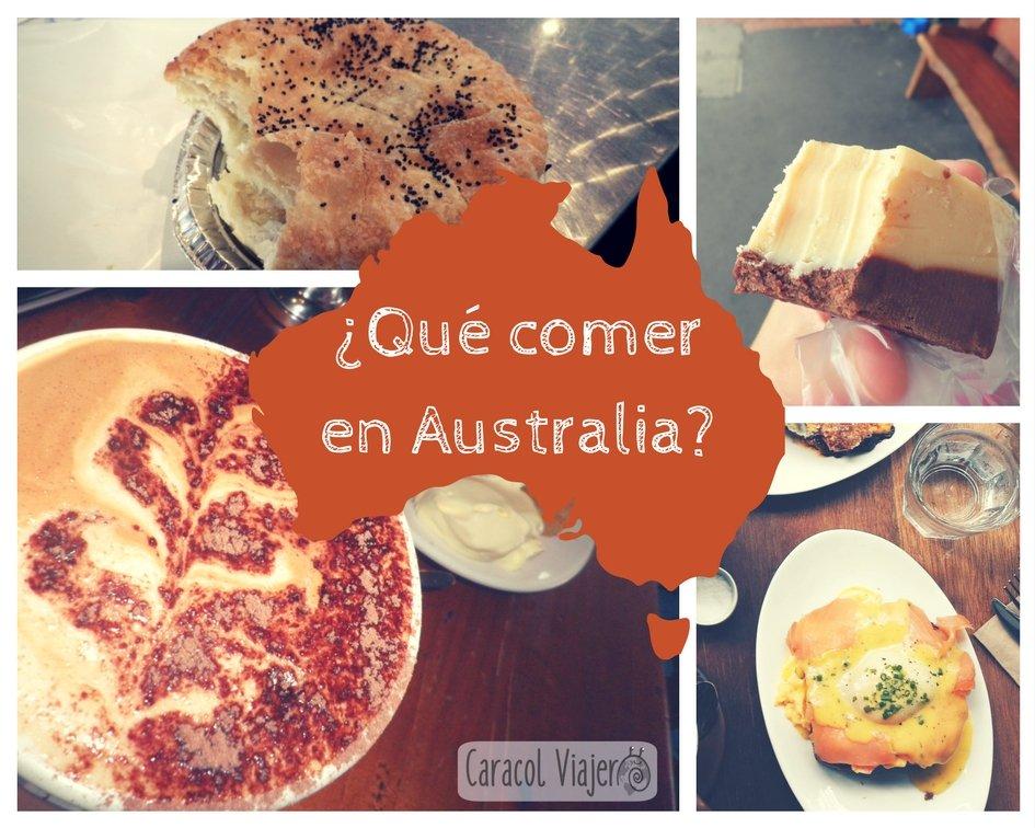 ¿Cuál es la comida típica de Australia?