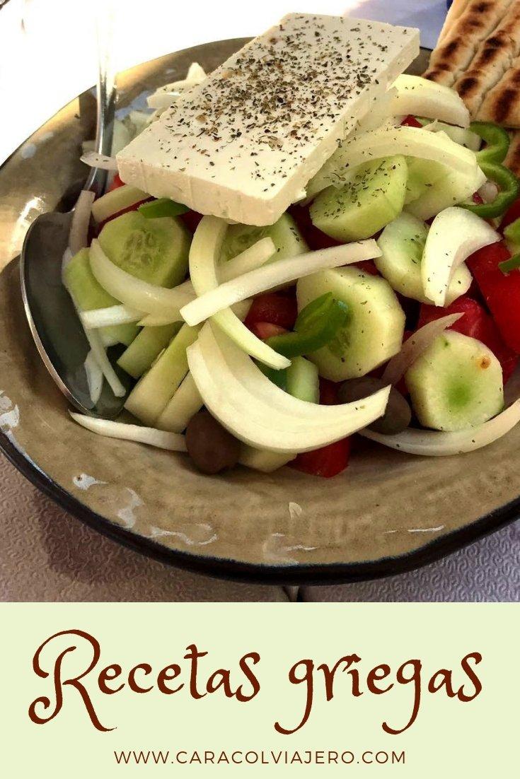 recetas de Grecia