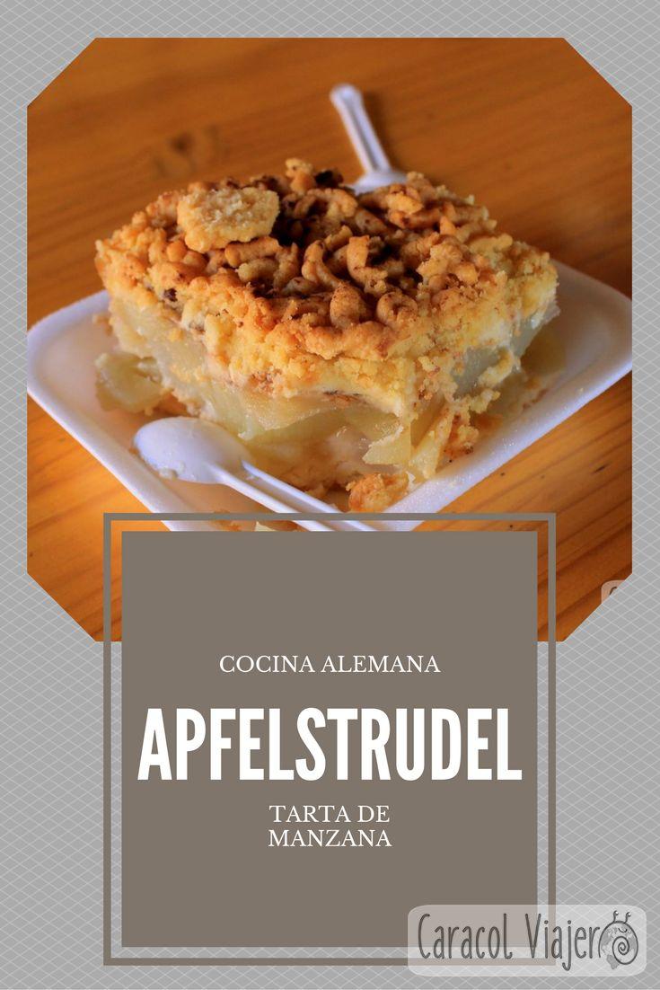 Tarta de manzana alemana, apfelstrudel