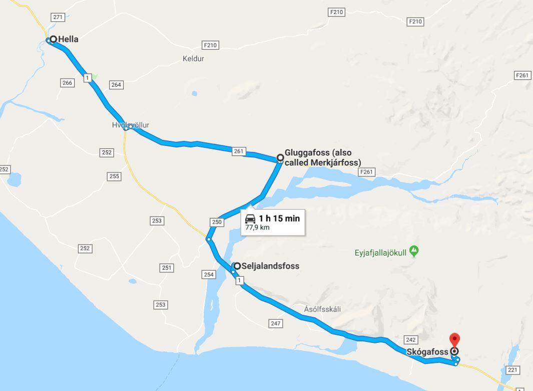 Día 2 de ruta Islandia - Ring Road