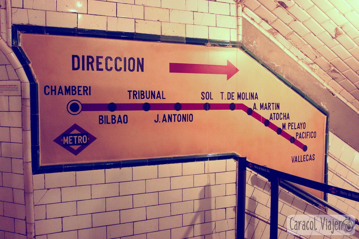 Metro fantasma de Chamberí
