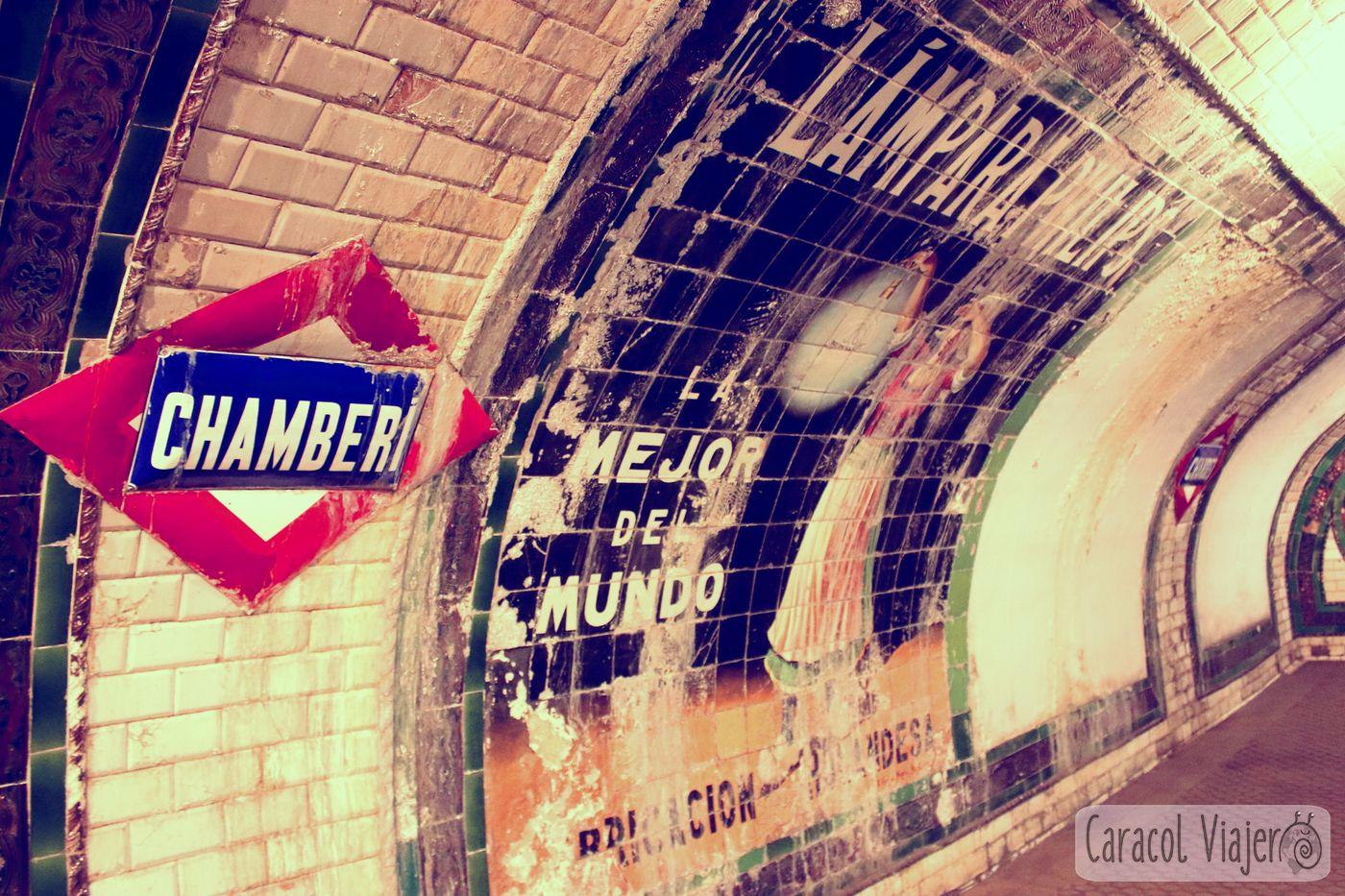 Estación Chamberí