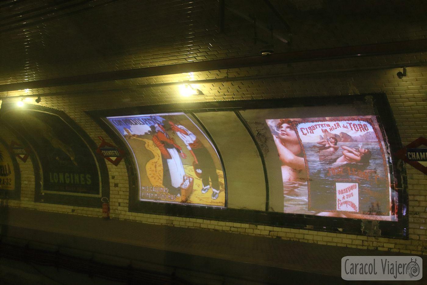 Andén 0 Estación Chamberí