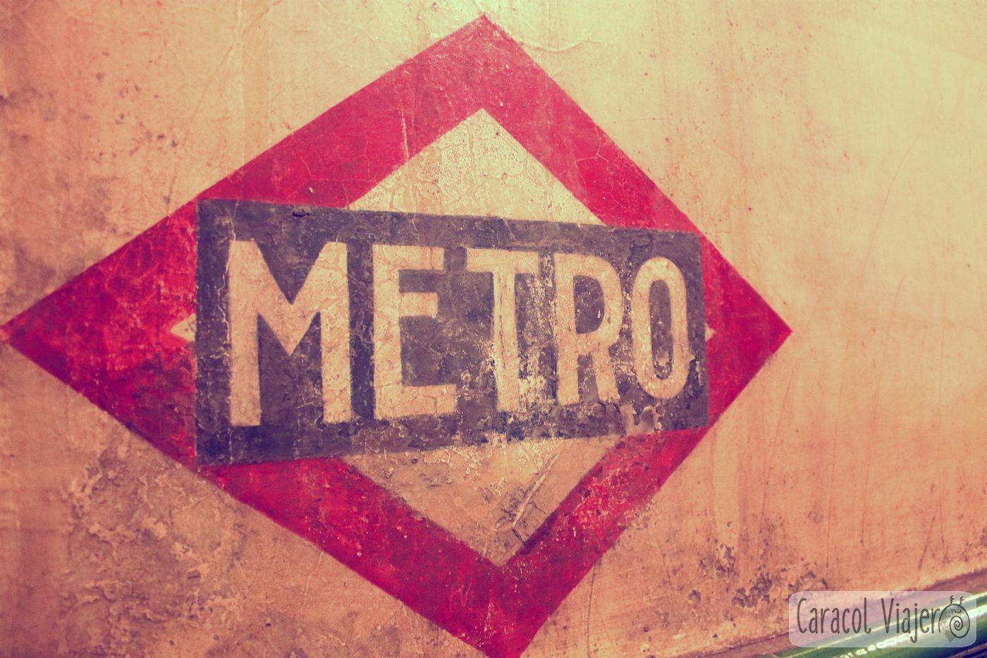 Metro de Madrid slogan