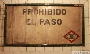 La estación fantasma de Madrid | Chamberí
