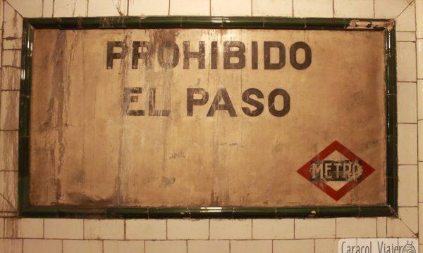 Andén cero, la estación fantasma de Madrid