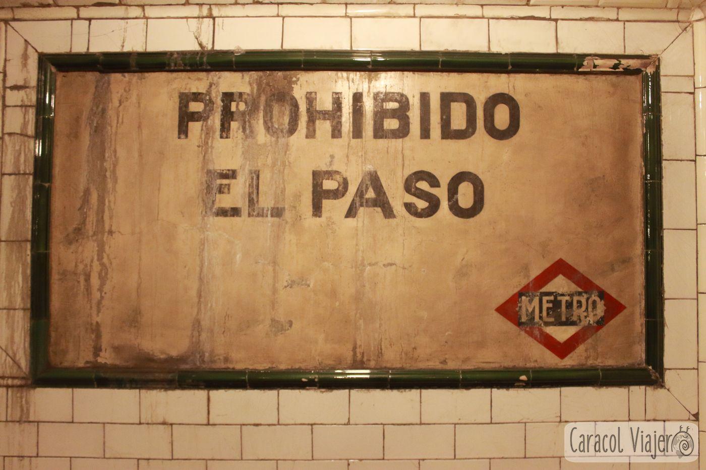 Metro de Madrid, Chamberí Andén 0
