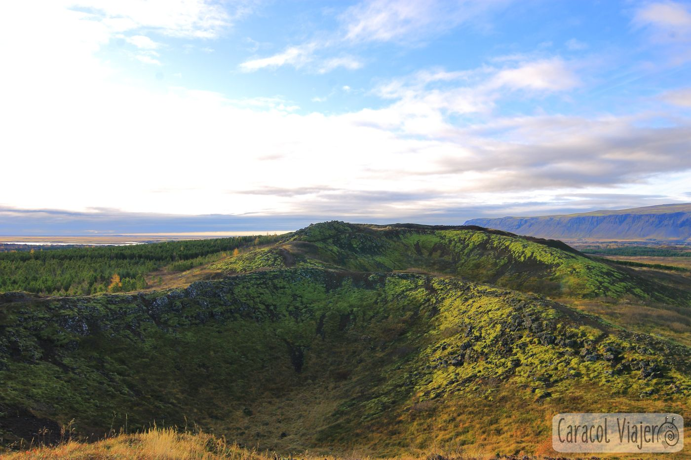 Kerid en Islandia vistas