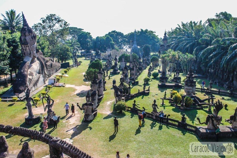 Buda Parque en Vientián