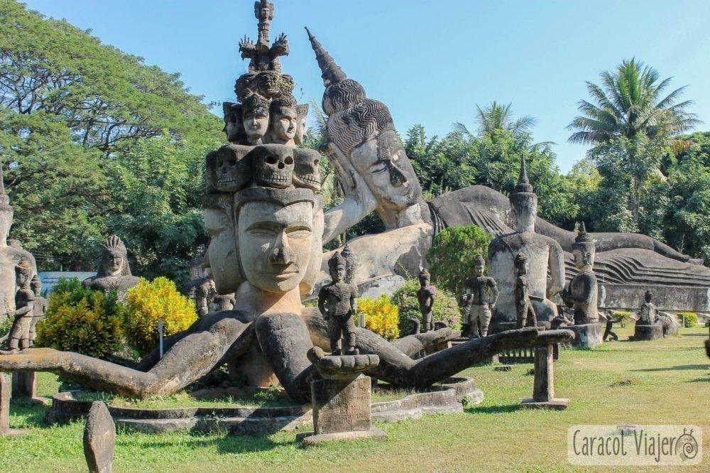 Buddha Park en Vientián
